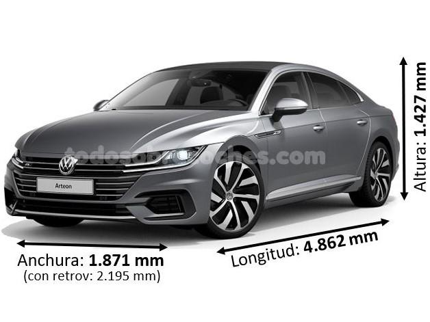 Medidas Volkswagen Arteon 2019