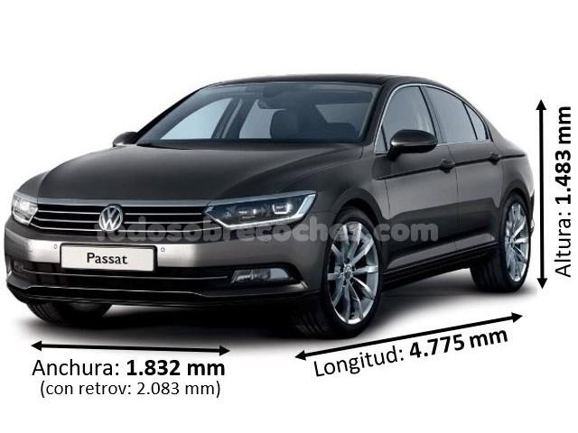 Medidas Volkswagen Passat 2019