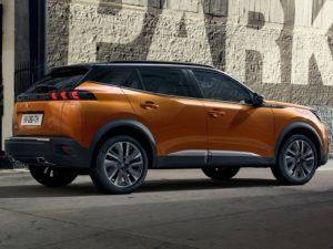 Peugeot 2008 2019 acabado GT naranja
