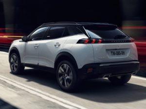 Peugeot 2008 2019 fondo de pantalla blanco