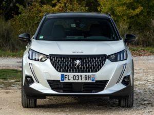 Peugeot 2008 2019 parrilla frontal