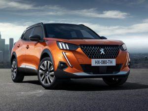 Peugeot 2008 2020 fondo de pantalla naranja
