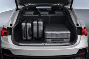 Audi Q3 Sportback 2019 maletero con maletas