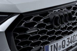 Audi Q3 Sportback 2019 parrila negra quattro