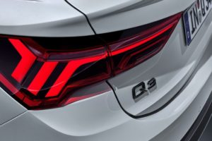 Audi Q3 Sportback 2019 piloto trasero