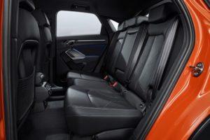 Audi Q3 Sportback 2019 plazas traseras