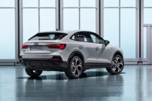 Audi Q3 Sportback 2019 trasera lateral