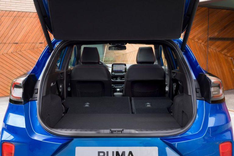 Ford Puma 2020 maletero asientos tumbados