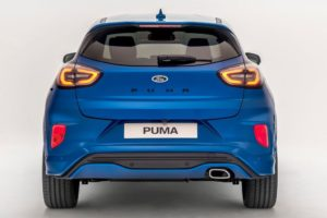 Ford Puma 2020 vista trasera png donfo blanco