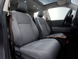 Honda e 2020 asientos delanteros