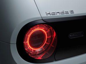 Honda e 2020 piloto trasero