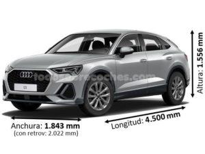 Medidas Audi Q3 Sportback 2019