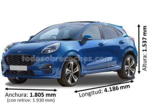 Medidas Ford Puma 2020