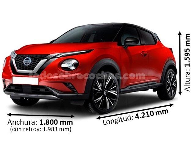 Medidas Nissan Juke 2020