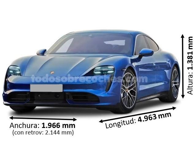 Medidas Porsche Taycan 2020