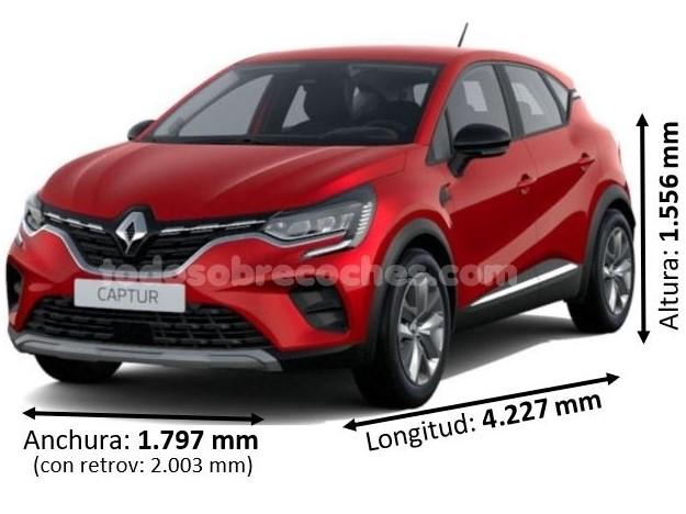Medidas Renault Captur 2020