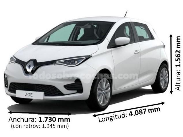 Medidas Renault ZOE 2020