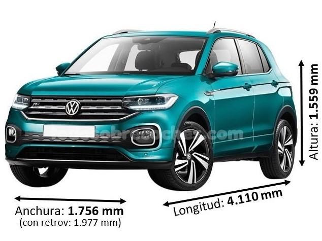 Medidas Volkswagen T-Cross 2019