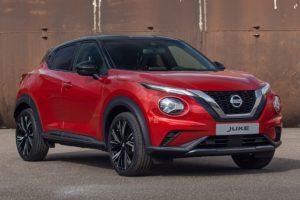 Nissan Juke 2020 rojo y negro