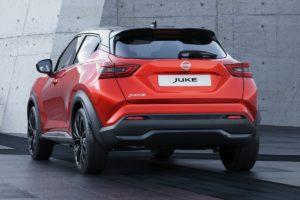 Nissan Juke 2020 trasera lateral