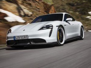Porsche-Taycan-blanco-frontal