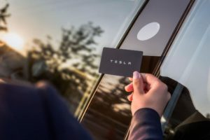 Tesla Model 3 llave tarjeta