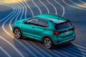 Volkswagen T-Cross 2019 aerea trasera