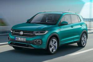 Volkswagen T-Cross 2019 azul verdoso