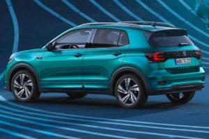 Volkswagen T-Cross 2019 fondo de pantalla azul