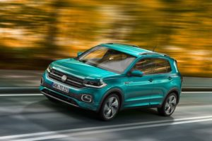 Volkswagen T-Cross 2019 frontal lateral