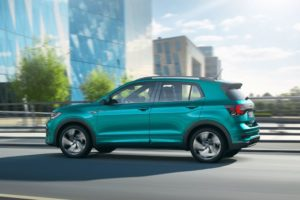 Volkswagen T-Cross 2019 lateral rline