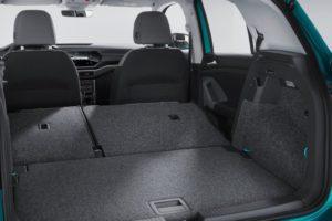 Volkswagen T-Cross 2019 maletero asientos tumbados