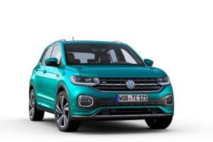 Volkswagen T-Cross 2019 por delante png