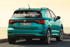 Volkswagen T-Cross 2019 por detras