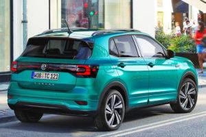 Volkswagen T-Cross 2019 r line vista trasera