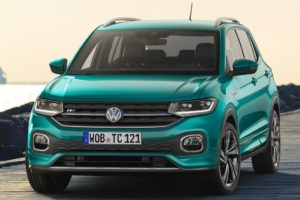 Volkswagen T-Cross 2019 vista frontal