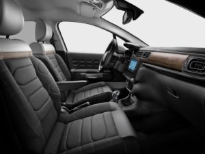 Citroen C3 2020 interior plazas delanteras