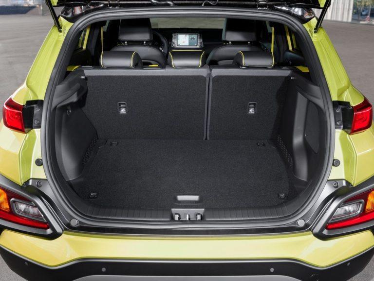 Hyundai Kona 2018 maletero