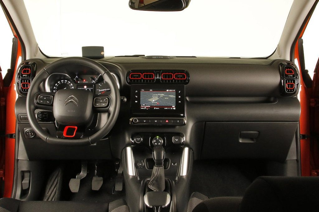 Interior Citroen C3 Aircross 2018
