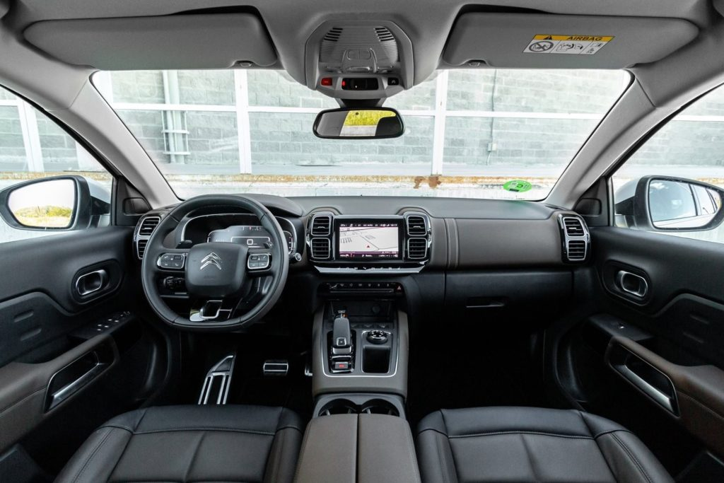 Interior Citroen C5 Aircross 2018
