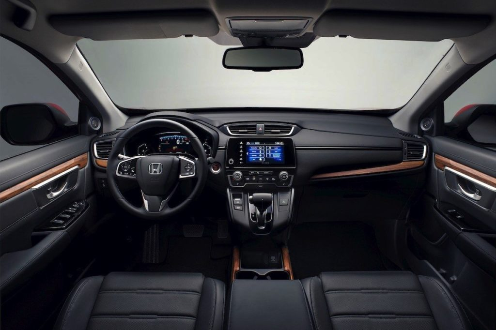 Interior Honda CR-V 2020
