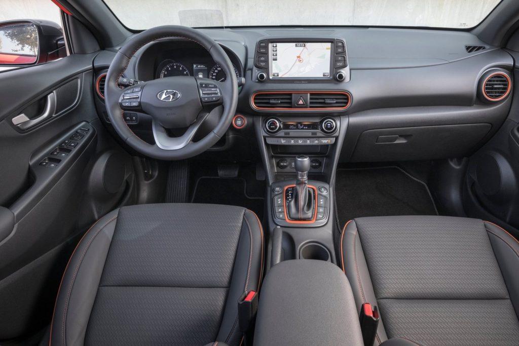 Interior Hyundai Kona 2018