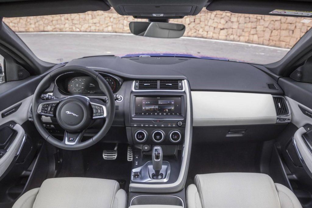Interior Jaguar E-Pace 2018