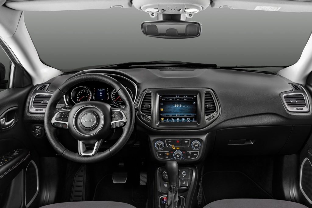 Interior Jeep Compass 2017
