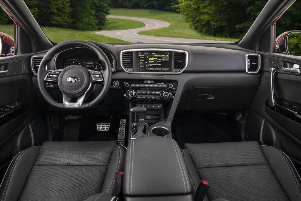 Interior Kia Sportage 2018