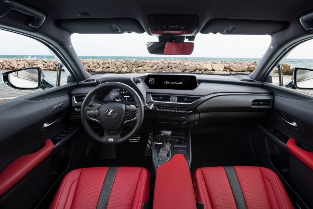 Interior Lexus UX 2019