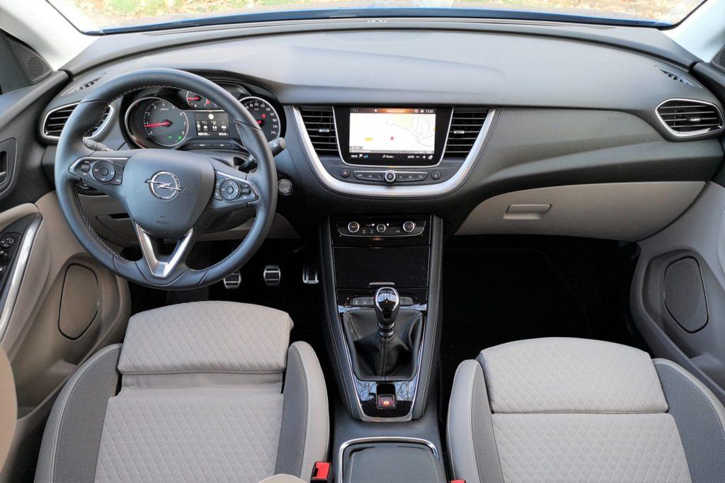Interior Opel Grandland X 2018