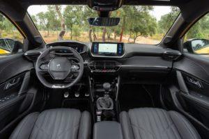 Interior Peugeot 208 2019
