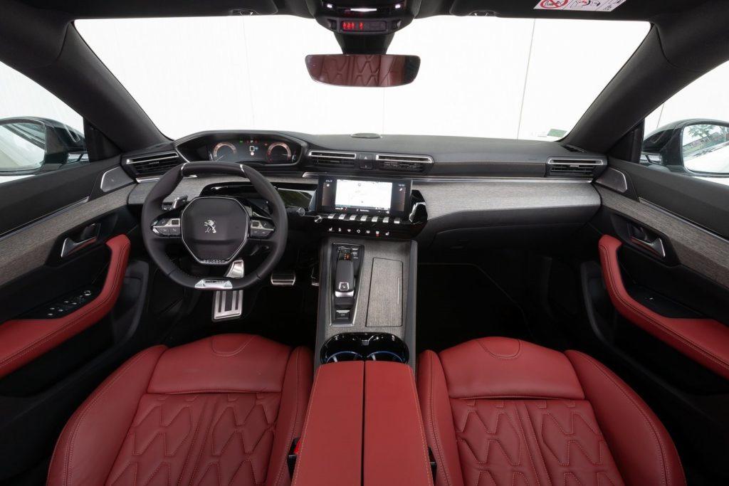 Interior Peugeot 508 2019