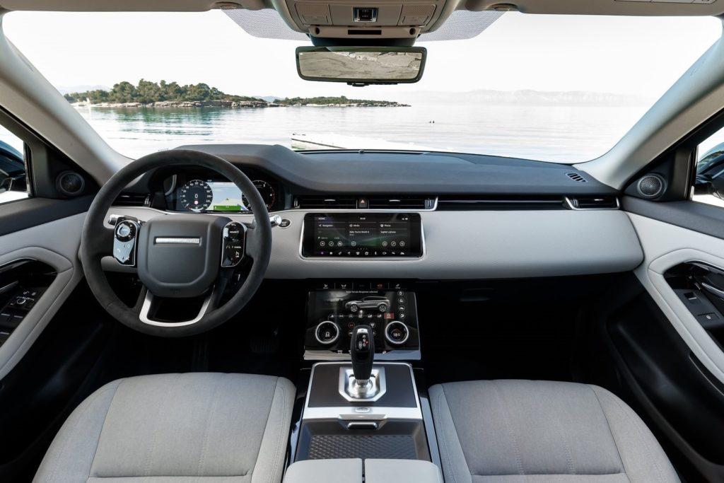Interior Range Rover Evoque 2020